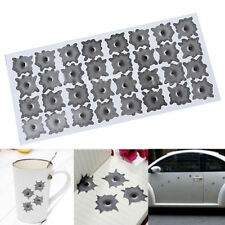Simulation bullet hole Orifice stickers Graphic Decal Car Auto body Paper Decor