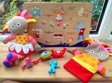 In The Night Garden Toy Bundle Talking Upsy Daisy Glove Puppet & Puzzle Tray Etc