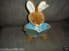 EDEN PETER RABBIT TALKING STORY TELLING BUNNY PLUSH DOLL FIGURE W/ TAG