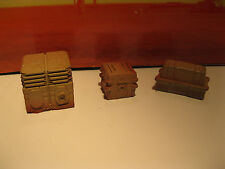 Star Wars Custom Cast Award Winning Set of 3 Crates Diorama Parts 3.75 Scale