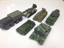 LOT 6 CHARS USSR MILITAIRE 1/72-WW2 RUSSIA MILITARY ARMY-SECONDE GUERRE MONDIALE