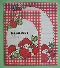 Sanrio My Melody Strawberry Fields Letter Sets