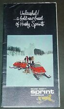VINTAGE BOLENS HUSKY SPRINT  SNOWMOBILE SALES BROCHURE   (796)