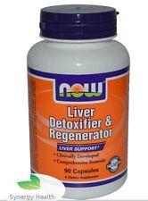 Now Foods Liver Detoxifier Regenerator, 90 Caps UK Freepost Synergy