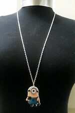 A Grande Minion Gru, Mi Villano Favorito Charm Colgante Collar 76.2cm Largo