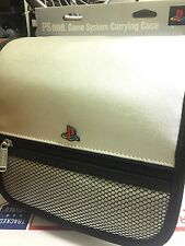 Official Sony PlayStation 1 PS1 PSOne System Console Game Carry Case Bag Silver