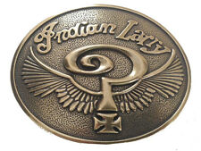 Brass Indian Larry Belt Buckle Motorcycle Bike Chopper Men's biker gift idea New