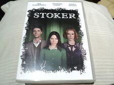 """DVD """"STOKER"""" Mia WASIKOWSKA, Matthew GOODE, Nicole KIDMAN"""