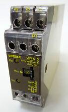 EBERLE SBA-2 Zeitrelais Time Relay Relais 3-60min 220V 24V ansprechverzögert