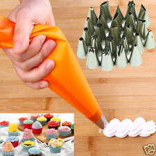 24Pcs Icing Piping Nozzles Pastry Tips Set For Cake Decorating Sugarcraft tool