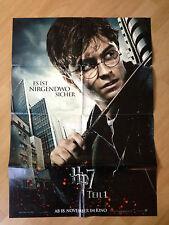Filmposter * Kinoplakat * A1 * Harry Potter 7.1 * Die Heiligtümer des Todes * A