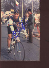 ERIC VANDERAERDEN SIGNED Photo cyclisme ciclismo wielrennen Cycling PANASONIC