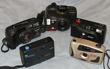 35mm Rangefinder Point and Shoot Film Camera Collection