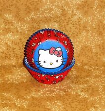 Hello Kitty Cupcake Papers,Wilton,415-7575, Reds,Bake Cups,Party, Multi-Color