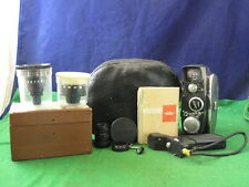 Lovely Vintage Quarz-M Movie Camera With Accessories And Free Lenses RD3733