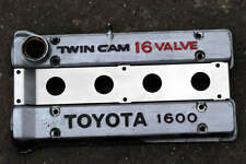 TOYOTA COROLLA AE86 TWIN CAM UPRATED ENGINE VALLEY COVER PLATE 4AGE CAM COVER
