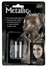 MEHRON METALLIC POWDER COPPER BRONZE THEATRICAL STAGE MAKEUP FACE BODY PAINT