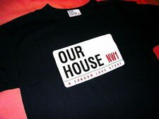 OUR HOUSE MADNESS MUSICAL - SIZE X-LARGE - NAVY T SHIRT - SUGGS STIFF 2 TONE SKA