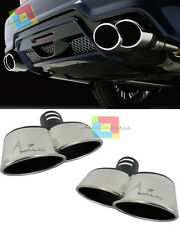 TERMINALI DOPPIO SCARICO BMW SERIE 3 E90 E91 - ACCIAIO INOX