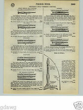 1932 PAPER AD Heddon's Split Bamboo Fly Fishing Rod Jim Favorite Expert Premier