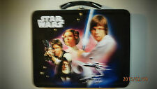 Star Wars Raised Images Metal Lunch Box