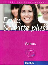 Hueber ERSTE SCHRITTE PLUS VORKURS Kursbuch mit Audio-CD @NEW@
