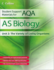 NEW Student Support Materials for AQA - AS Biology Unit 2: Var living organisms