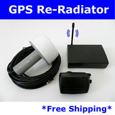 54dB GPS Antenna Amplifier Receiver Repeater Radiator BA-50 Full kit for Lab
