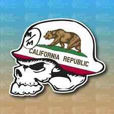 "Metal Mulisha California State Flag Bear 3"" Custom Vinyl Decal Sticker JDM"