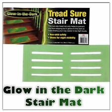 NEW TREAD SURE NON SLIP STAIR MAT GLOW IN THE DARK STEPS STAIRS
