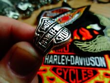 Vintage Harley Davidson Ring Factory HD Motorcycle Dealership Jewelry Size 11
