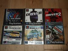 PS1/PS2 PS3 GAMES RACING DRIVING BUNDLE GRAN TURISMO DRIVER TOCA COLIN McRAE