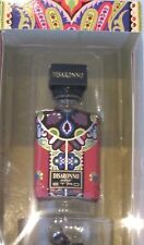 RARE Disaronno Amaretto wears ETRO Special Edition Empty Mini Bottle & Glass