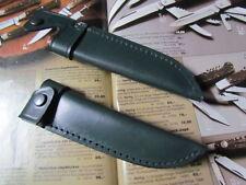 SOLINGER STILETTMESSERSCHEIDE Farbe Grün für Messer mit 12 cm KLINGENLÄNGE