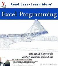 Excel Programming: Your Visual Blueprint for Creating Interactive Spreadsheets (
