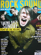 ROCK SOUND 84 - TAKING BACK SUNDAY - LACUNA COIL - AIDEN - FIGHTSTAR