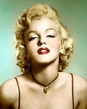 "MARILYN MONROE HOLLYWOOD LEGEND & MOVIE STAR 8x10"" HAND COLOR TINTED PHOTOGRAPH"