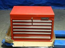 "Proto Red Steel Tool Box Storage Chest 8 Drawer 26"" W. x 18"" D. x 19"" H."