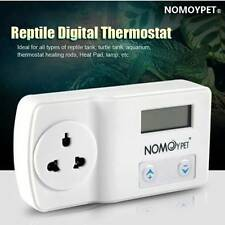 220V Digital Thermostat Reptile Heat Mat Lamp Aquarium Temperature Controller