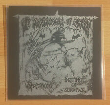 "Instinct Of Survival/Völkermord Split 7"" Crust Axegrinder Deviated Instinct"