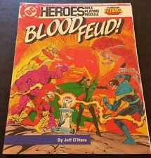 1985 DC Heroes Role Playing Game BLOOD FEUD MFG203 The Teen Titans Sealed SW NEW