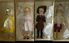 1981  Effanbee -Four Seasons ALL 4 Blond Hair 15 inches Dolls