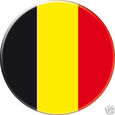 MAGNET frigo Ø56 mm coque style badge  -Belgique Belgium Belgica