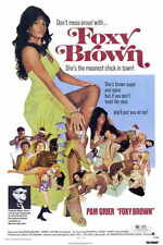 FOXY BROWN Movie MINI Promo POSTER Pam Grier Terry Carter Antonio Fargas