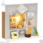DIY Handcraft Miniature Project Kit European Shop The Street Gallery Dolls House