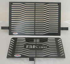 SUZUKI B-KING (07-12) BLACK RADIATOR & OIL COOLER PROTECTORS, COVERS, GUARDS