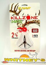 NAP KILLZONE CROSSBOW 125 Grain Broadhead-3PK-60-815
