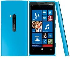 NEW NOKIA LUMIA 920 SMARTPHONE (UNLOCKED) CYAN - 32GB + FREE GIFTS