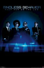 MINDLESS BEHAVIOR POSTER ~ ON LOW 22x34 Music Ray Princeton Prodigy Roc Royal