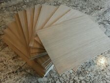 RED OAK PLYWOOD 1/4 thick (20) pieces
